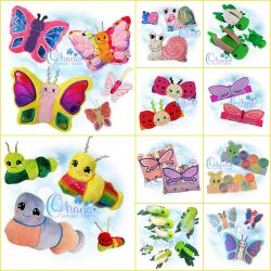 Bugs Week Bundle Embroidery