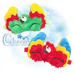 Parrot Sleep Mask design