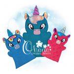 Unicorn Hand Puppet Embroidery