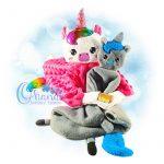 Unicorn Lovey Embroidery Design