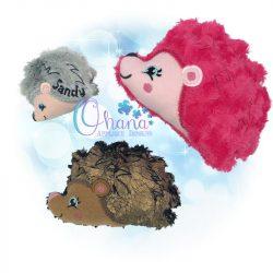 Harriet Hedgehog Stuffie Embroidery