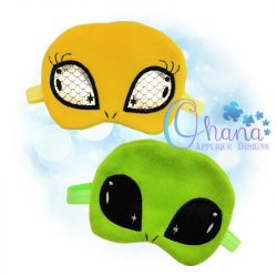 Blaorlgg Alien Sleep Mask Design