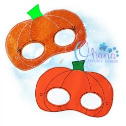 Kawaii Pumpkin Pretend Mask