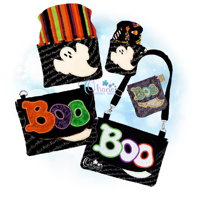 Boo Flap Bag Purse
