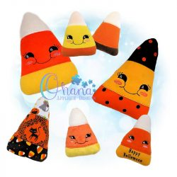 Candy Corn Stuffie Embroidery