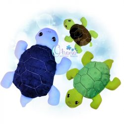 Tutar Turtle Stuffie Embroidery