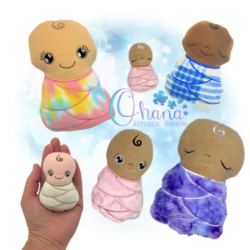 OAD Baby Stuffie Mixed 80072