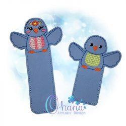 Bella Bluebird Bookmark Embroidery
