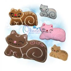 Cinnamon Gingerbread Kitty Stuffie