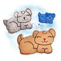 Nutmeg Gingerbread Puppy Stuffie