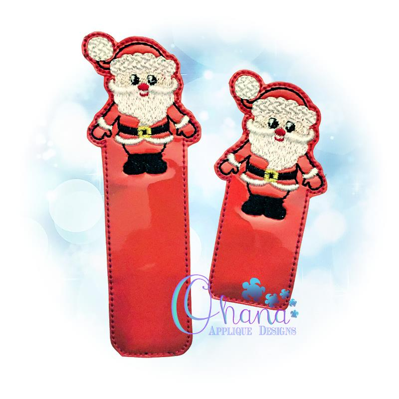 Santa Claus Bookmark Embroidery