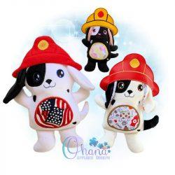 Blaze Dalmatian Stuffie Embroidery