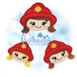 Firefighter Feltie
