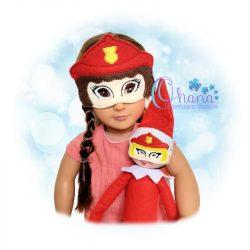 Firefighter Female Doll Pretend