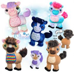 Cookie Horse Stuffie Embroidery