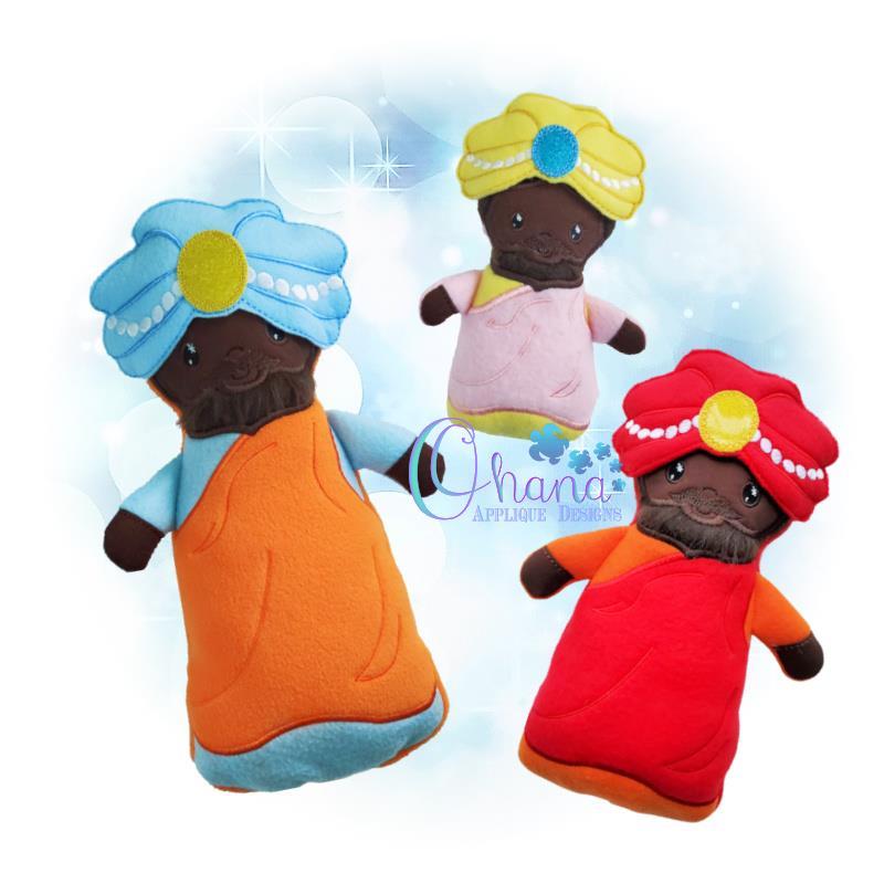 Balthazar Stuffie Embroidery Design