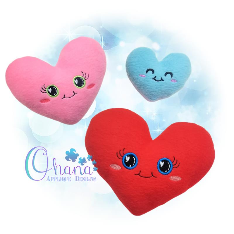 OAD Heart Stuffie MLH 80072