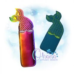 Mermaid Tail Bookmark Embroidery