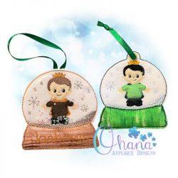 Prince Snowglobe Ornament