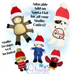 Santa Hat for Stuffies