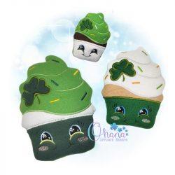 St Pattys Cupcake Stuffie