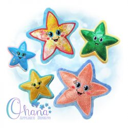 Starfish Stuffie Embroidery