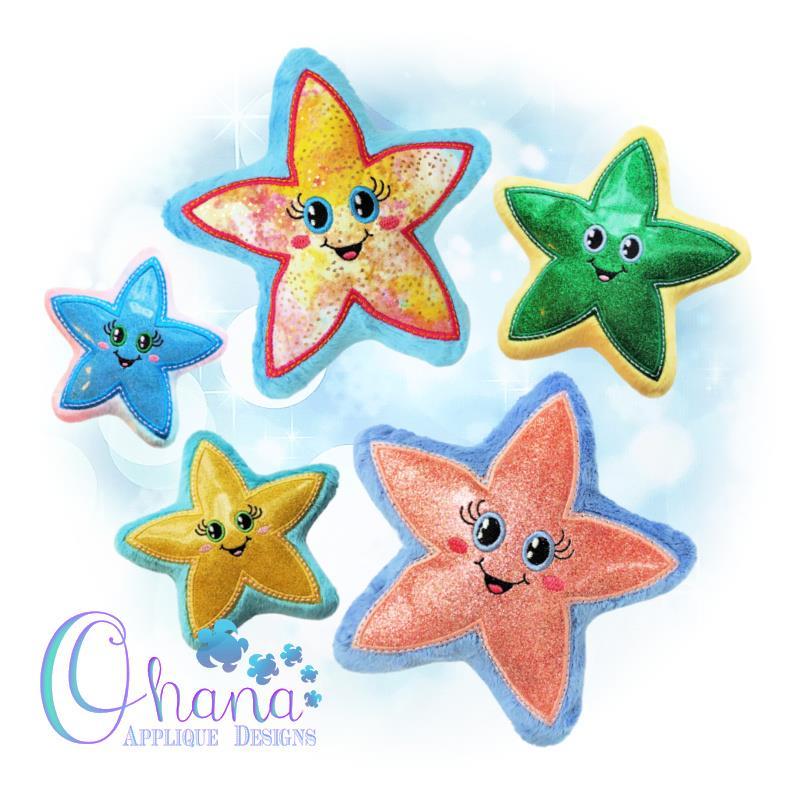 OAD Starfish Stuffie Multi 800 72