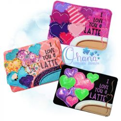 Love Latte Mug Rug