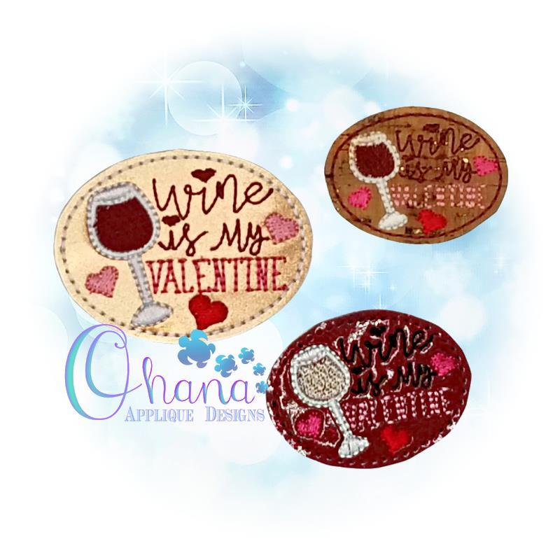 OAD Wine Valentine Feltie AK 80072