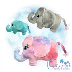 Jellybean Elephant Stuffie
