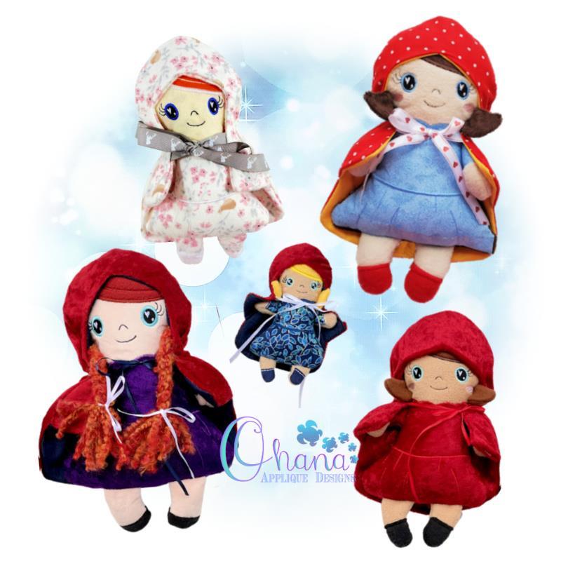 OAD Little Red Stuffies Multi 80072
