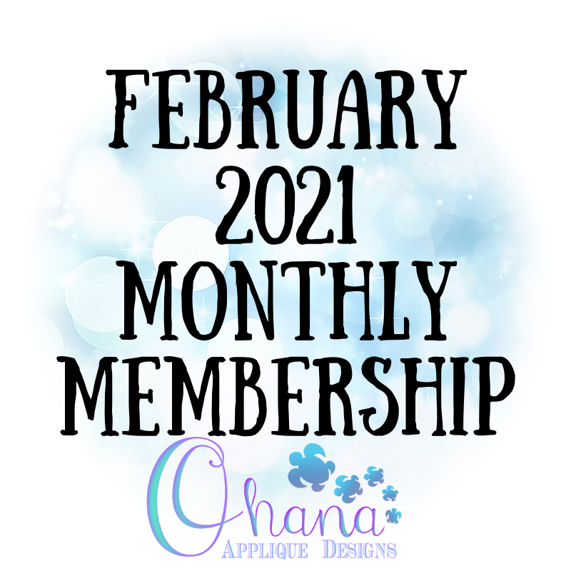 OAD February Monthly Membership