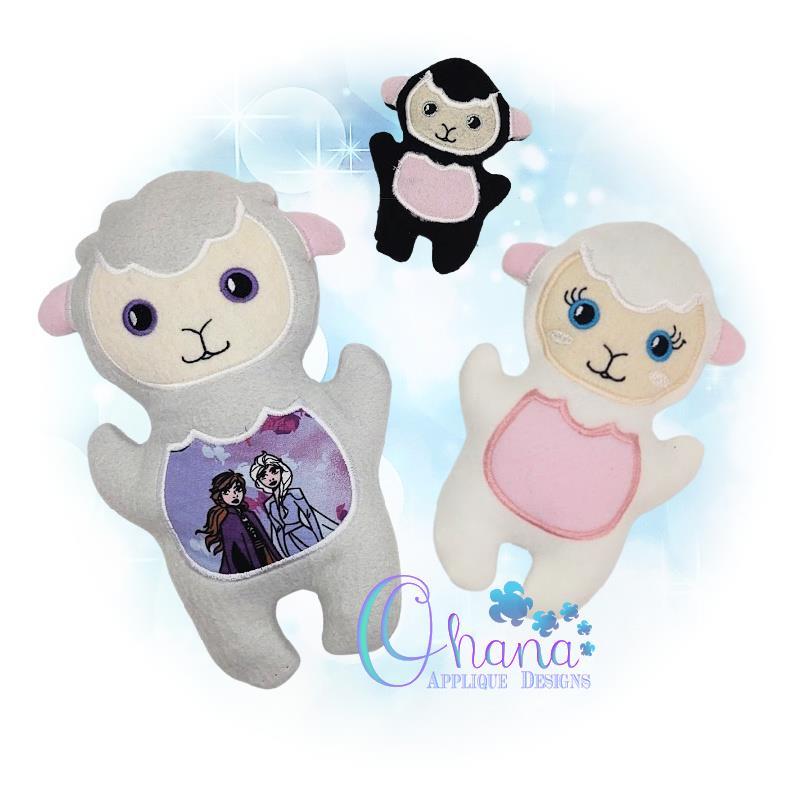 OAD QS Lamb Stuffie Multi SB 80072