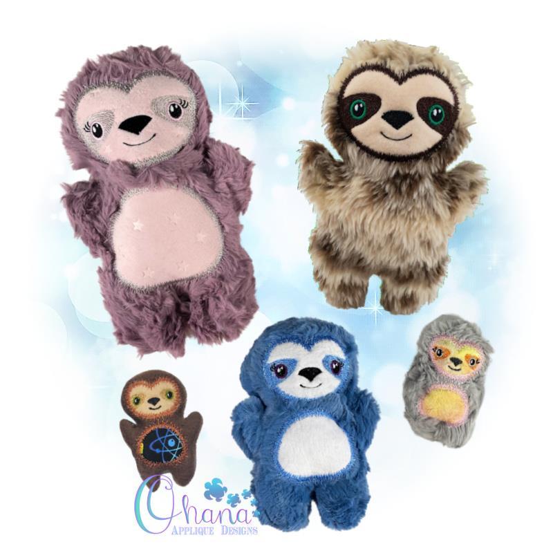 OAD Sloth QS Stuffie DB 800 (1)72