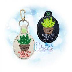 Aloe Key Chain
