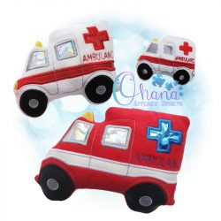 Ambulance Stuffie