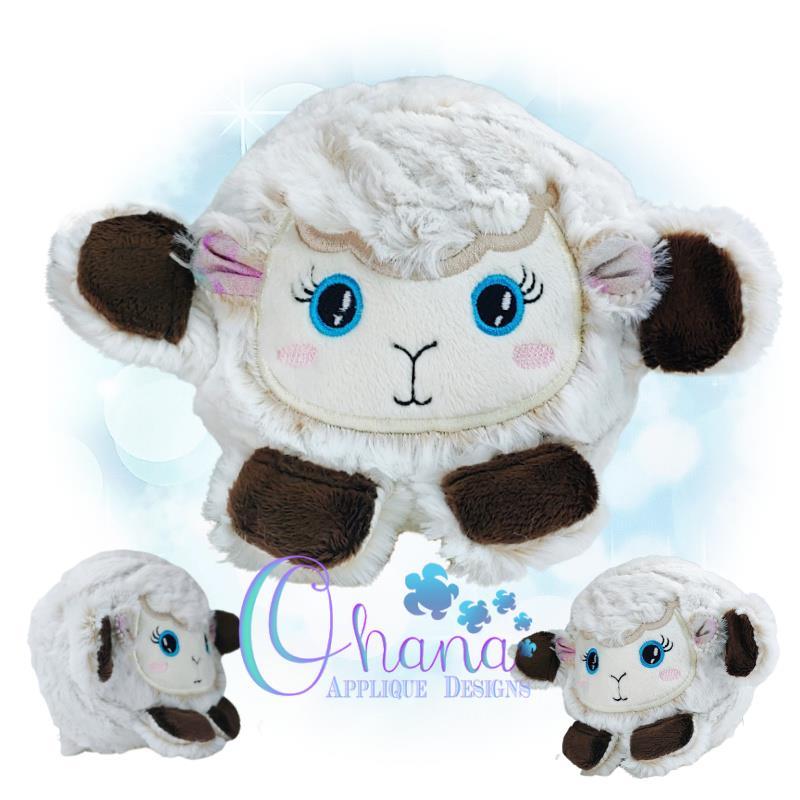 OAD Ball Lamb Stuffie KA 800 72