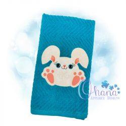 Snuggle Bunny Applique