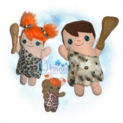 Cave Person Stuffie
