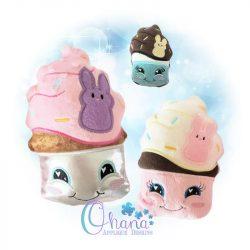 Easter Cupcake Stuffie