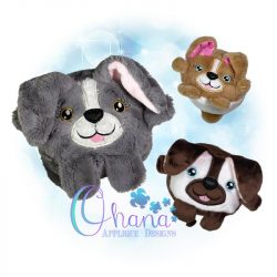 Ball Dog Stuffie Embroidery