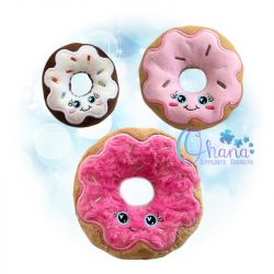 Kawaii Donut Stuffie Embroidery