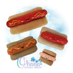Kawaii Hot Dog Stuffie
