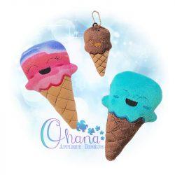 Ice Cream Cone Stuffie