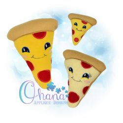 Pizza Slice Stuffie Embroidery