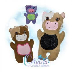 Betsy Cow Stuffie Embroidery