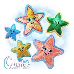 OAD Starfish Stuffie Multi 800