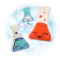 Kawaii Erlenmeyer Flask Stuffie
