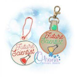 Future Scientist Key Chain