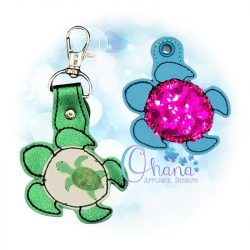 Honu Turtle Key Chain
